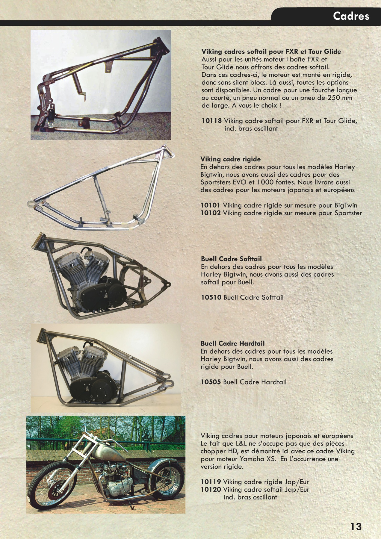 L l catalogue fr 2013 page 013 l l choppers francel l for Quelle fr catalogue 2013